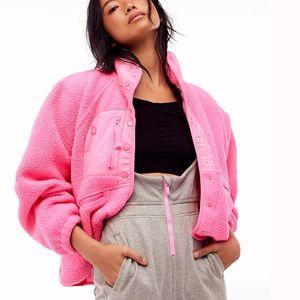 Free People fp movement fleece jacket